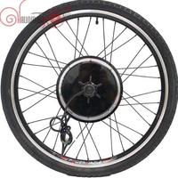 36V/48V 1000W 20inch 700c Ebike Driving Brushless Gearless Hub Motor+Rim+36 Holes for Spokes+Tyre Front Motorized Wheel 100mm