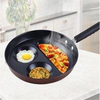 Smile Omelette Cooking Pan Egg Soup Pans Aluminum NonStick Omelet Pancake Pot Bakelite Method For Cooking