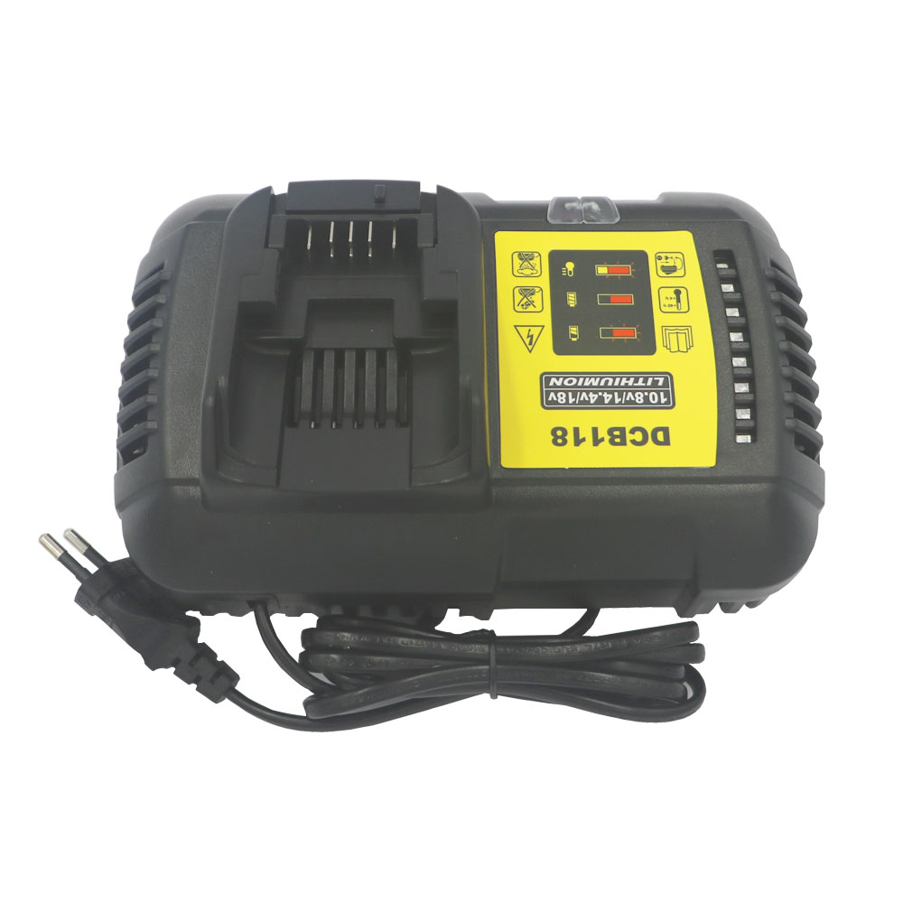 4.5A fast lithium battery Charger for Dewalt DCB118 12V/14.4V/20V/60V DCB200 DCB180 DCB181 DCB182 DCB120 litio Battery Charger