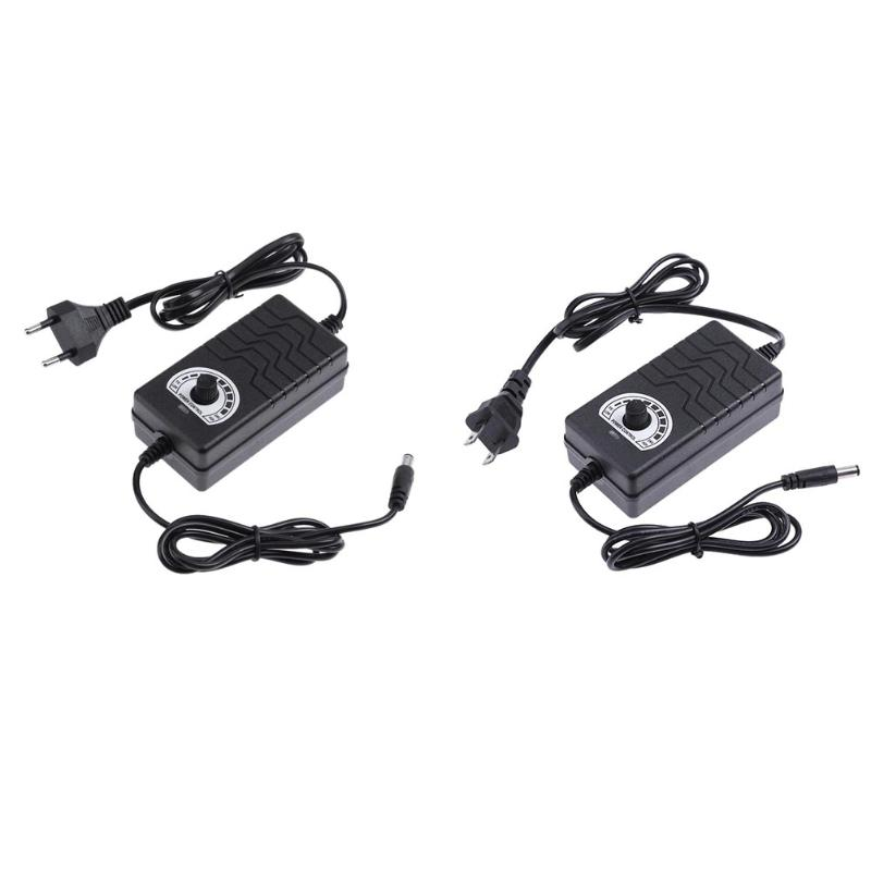 3-24V 2A Output Voltage Adjustable AC to DC Adapter Motor Speed Controller Power Supply Adapter for Electric Motor Drill