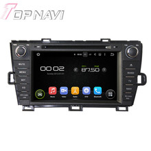 Quad Core Android 5.1 Car GPS Navigation For Toyota Prius 2009-2013 right driving With Radio Multimedia Video Mirror Link 16GB