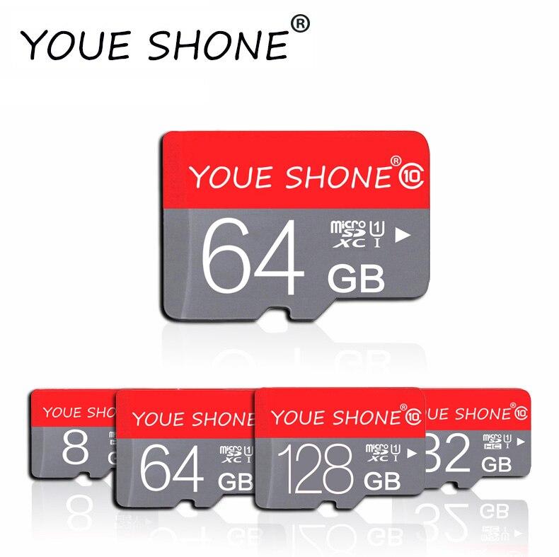 Класс 10 Micro SD карта 8 ГБ 16 ГБ 32 ГБ SDHC карта памяти Высокоскоростная Флешка карта 64 Гб 128 ГБ SDXC флэш sdcard для телефона посылка