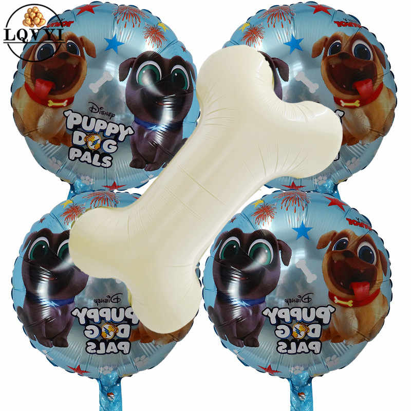 1pcs Puppy Dogs Pals Foil Balloon Inflatable Birthday Party
