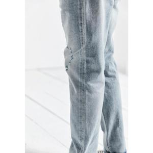 Image 4 - Simwood 2020 春の新ジーンズの男性が穴ヴィンテージアンクル丈デニムパンツ洗浄ファッションヒップホップズボン 190038