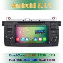 Quad core Android 5.1.1 Dvd-плеер Автомобиля для BMW 3 Серии E46 M3 с Радио Wi-Fi Bluetooth GPS Навигации