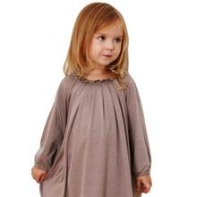 2b5f73c5f87 Платье для маленьких девочек цветок воротником детское платье принцессы  Рождественский выпускного вечера вечерние Платья из хлопка