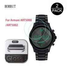 82cbf2755a8 Pacote Para Armani 2 ART5000 ART5002 Assistir Filme 0.3mm 2.5D 9 H Limpar