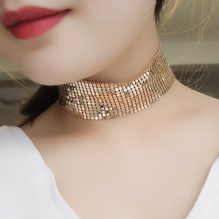 Aliexpress.com : Buy Small Square Choker Necklace Women