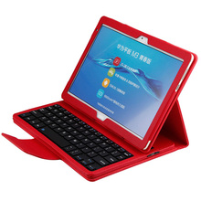 Wireless Bluetooth ABS Keyboard Cover Case For Huawei MediaPad M3 Lite 10 BAH-W09/AL00 10.1 PU Leather Removable Keyboard Cases case bluetooth keyboard for huawei mediapad m3 lite 8 0 youth cover protective pu protector leather cpn w09 al00 8 tablet cases