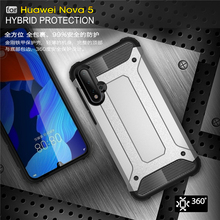For Huawei Nova 5 Pro Case Hard PC Shockproof Armor Rubber Cover Funda Youthsay