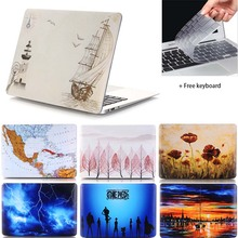Carry360 Hard Print Laptop Sleeve for Apple Macbook Air Pro Retina 11 12 13.3 15 inch for Mac book air 13 Case Cover A1989/A1990
