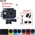 "2.0"" SJCAM Sj5000 Series SJ5000X Elite WiFi Waterproof Sports Action Camera Sj Cam DV + 2 Battery+Dual Wall+Car Charger +Monopod"