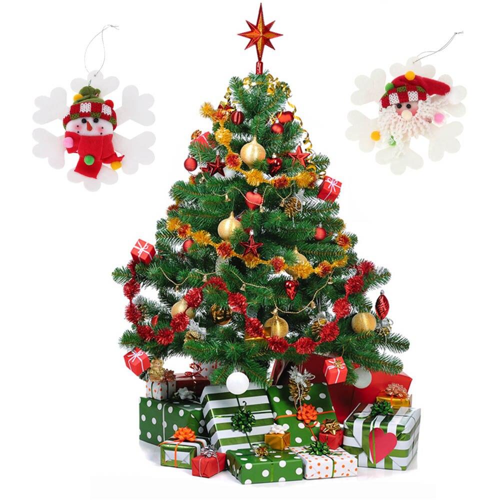 christmas decorations 2pcs Old man Snowman Christmas Tree ...