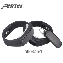 Смарт-браслеты talkband Bluetooth гарнитура для наушников смарт-Браслет Водонепроницаемый фитнес-трекер для IOS телефона Android
