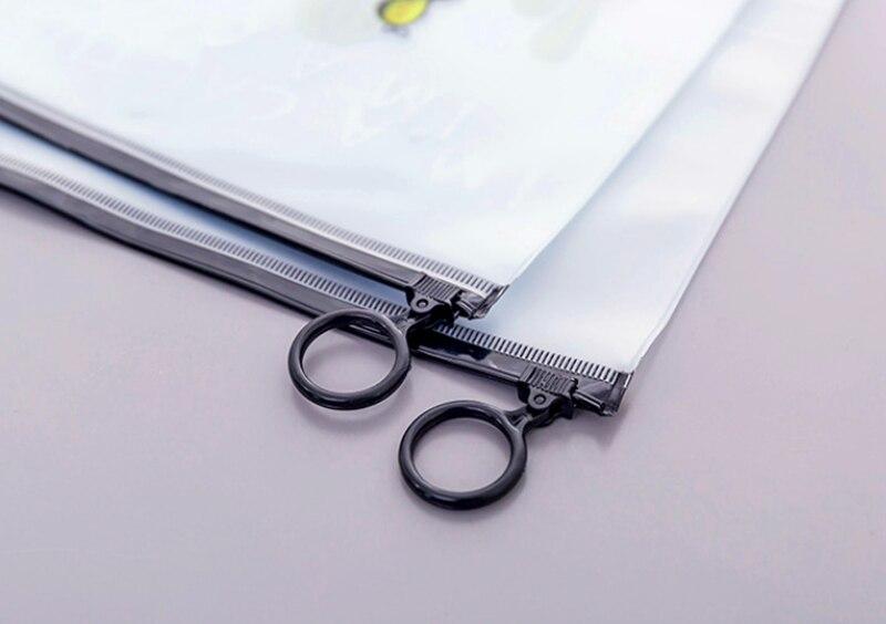 لطيف الصبار شفاف السفر حقيبة مستحضرات التجميل النساء حافظة للمكياج تجميل ضد الماء الجمال غسل المنظم أدوات الزينة صندوق تخزين