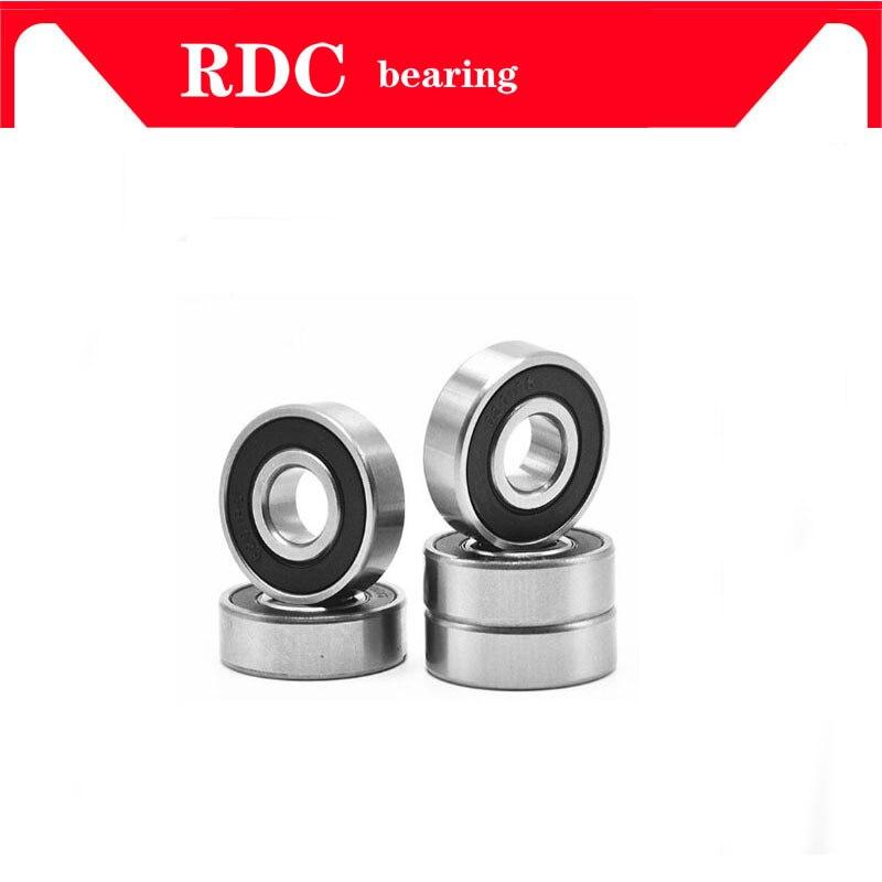 12x24x6 mm Metal Rubber Ball Bearing Bearings BLACK 6901RS 6901-2RS 20 PCS