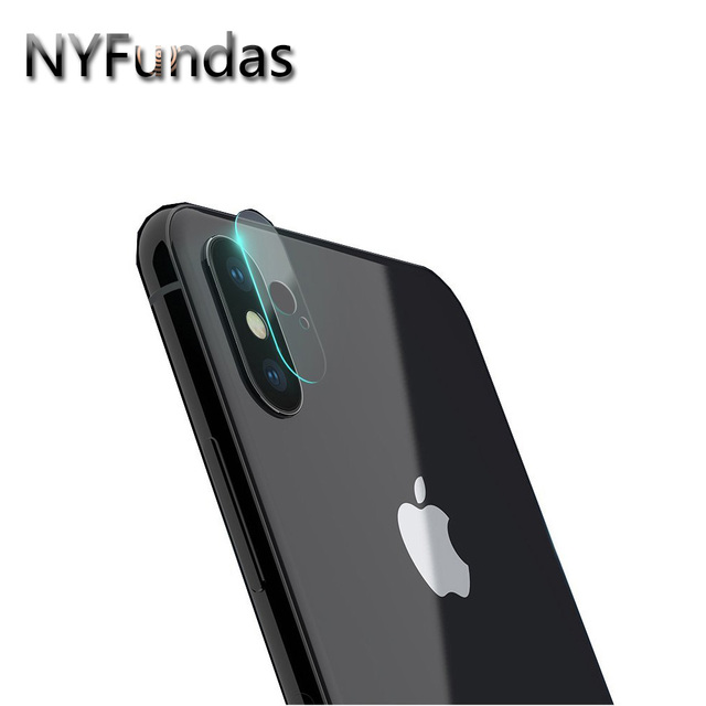 buy nyfundas for iphone x camera lens protector tempered glass protective film. Black Bedroom Furniture Sets. Home Design Ideas