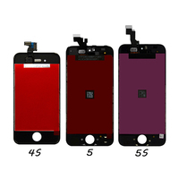 Hot Truth 1PCS Free Shipping AAA For IPhone 4 4S 5 5C 5S LCD Display Screen