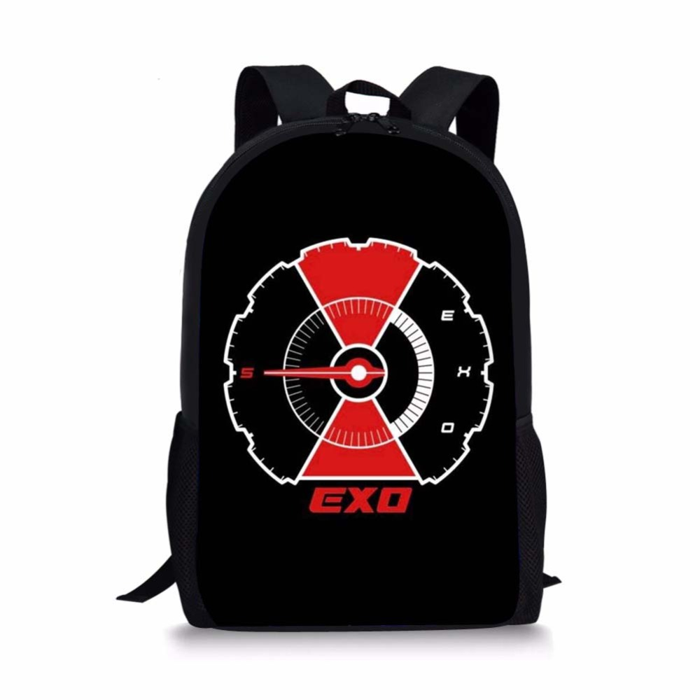 Noisydesigns 2019 Exo Tempo Backpack Comeback Pencil Bag Children School Bags For Teenagers Girls School Bag Cross Body Bag