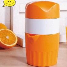Портативный ручная соковыжималка для цитрусовых оранжевый принт