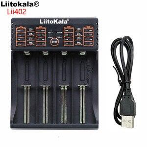 Image 4 - Liitokala Lii 100 lii 202 Lii 402 1.2 v/3 v/3.7 v/4.25v 18650/26650/18350/16340/18500/aa/aaaニッケル水素リチウムバッテリー充電器