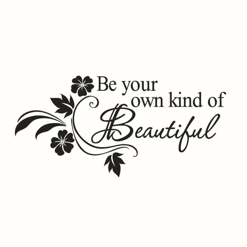 Decals Diy Werden Ihre Eigenen Art Schöne Blume Wand Aufkleber Dekor Aufkleber #6 Einfach Zu Reparieren