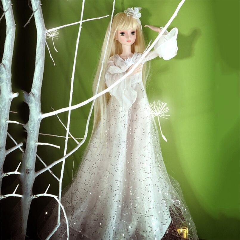 Abbyfrank 60cm veliki BJD lutke igračke Cosplay Rapunzel haljina - Lutke i pribor - Foto 5