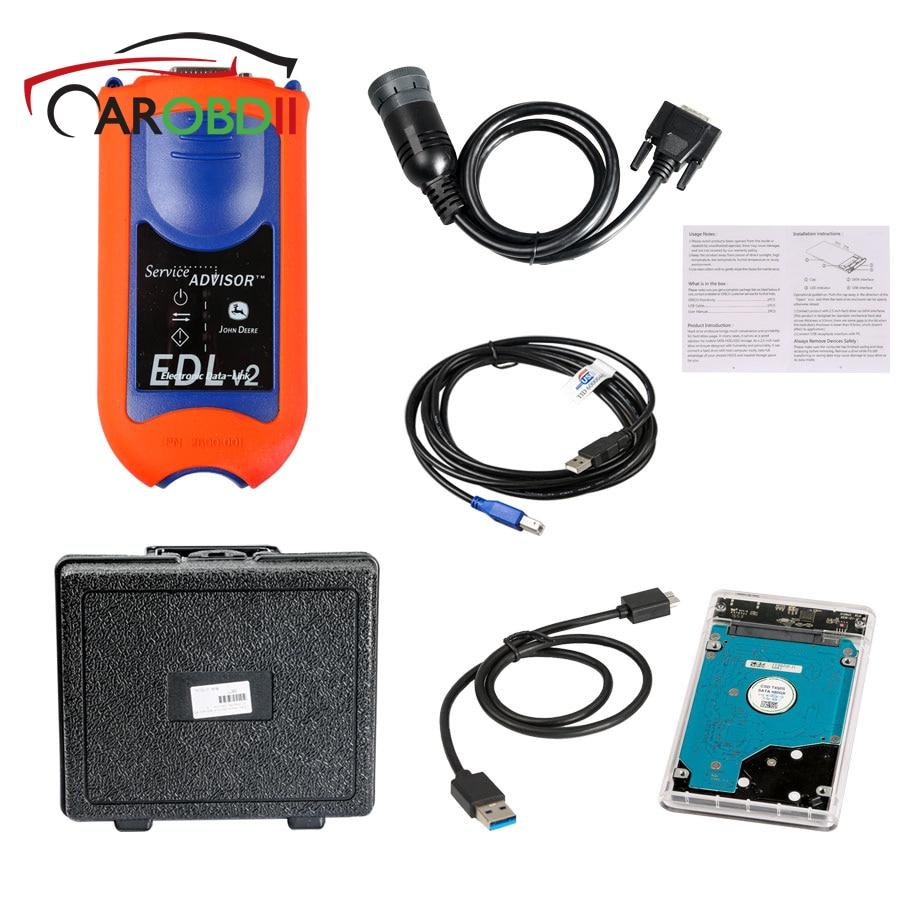 detail feedback questions about for john deere service advisor edl v2  diagnostic kit agricultural construction diagnostic tool scanner electronic  data link