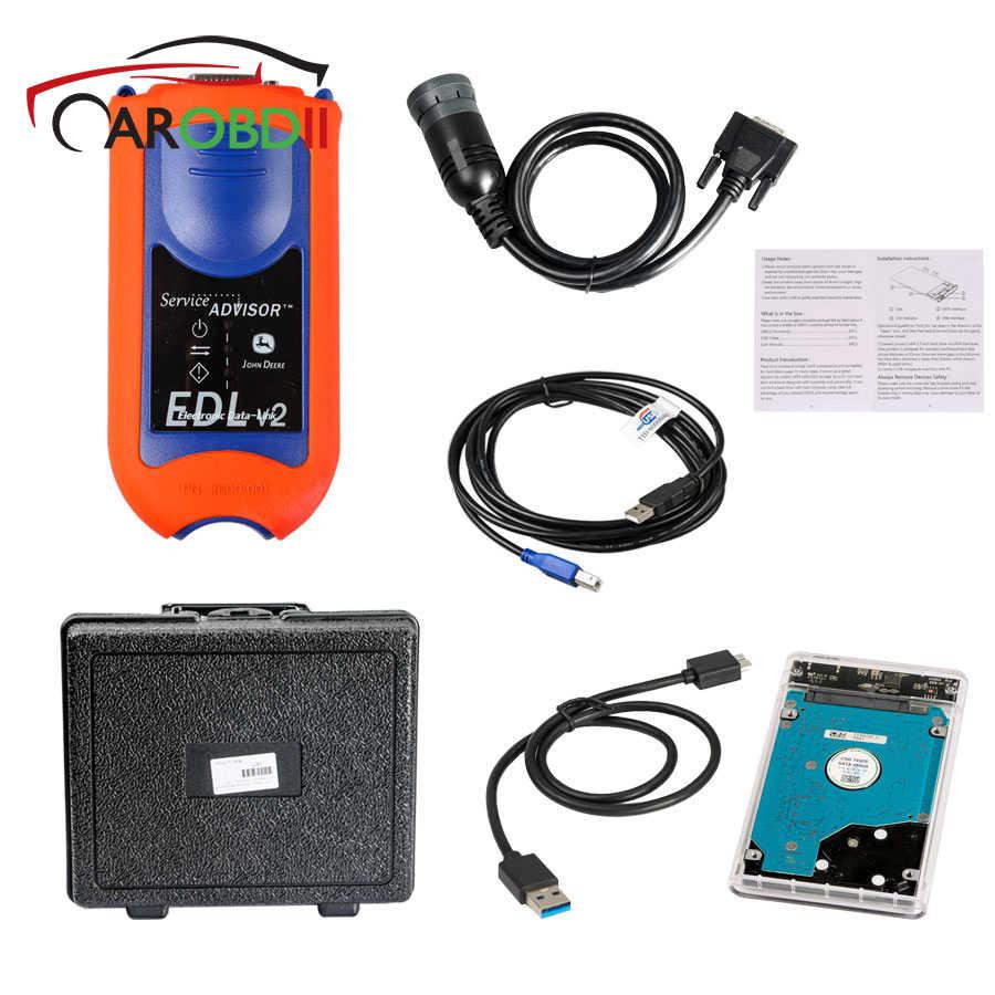 medium resolution of for john deere service advisor edl v2 diagnostic kit agricultural construction diagnostic tool scanner electronic data