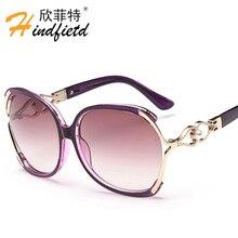 HINDFIELD Original de la Marca de Las Mujeres gafas de Sol Gafas de Moda Gafas de Sol de Las Mujeres gafas de sol feminino gafas de sol mujer