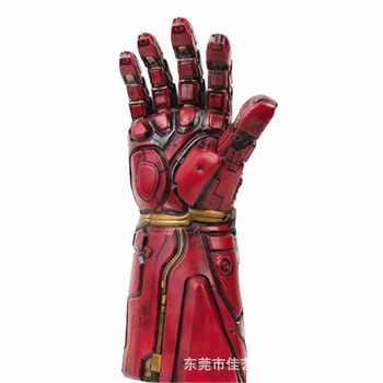 2019 Avengers Endgame Iron Man Gauntlet Thanos Infinity Gauntlet Iron Man Nano Gauntlet Armor Tony Stark Cosplay Gloves Props