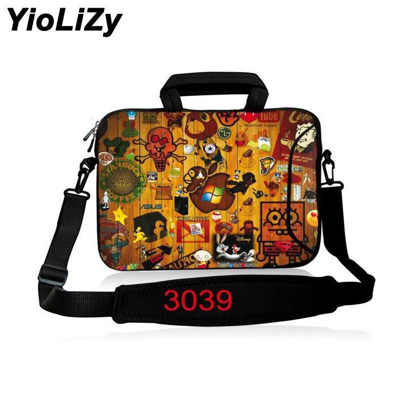 Laptop shoulder case 10.1 12 13.3 14.1 15.6 17.3 inch Messenger bag Notebook sleeve pouch For macbook air pro 13 15 case SB-3039