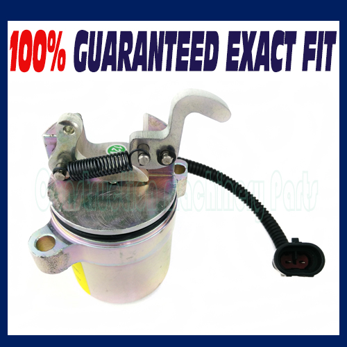 Fuel Shutdown Shut off Solenoid Valve 04287583 0428-7583 For Deutz Device - Free shipping fuel shut off solenoid valve coil 3964624 fits excavator engine