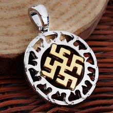 Slavic Kolovrat Pendant Minecr Necklace ZA Slavic Kolovrat Maxi Necklace Collier Collares 2015