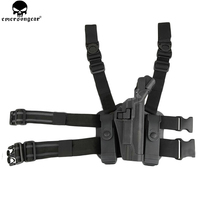 EMERSONGEAR BH Style Level 3 Tactical Serpa Holster Set for 1911 Plastic Holster Magazine Pouch 1911 BD6110