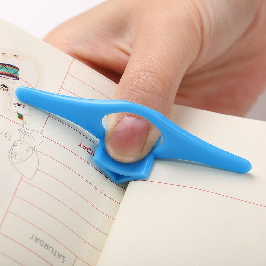 Шт. 1 шт. большой палец Удобный универсальный держатель для книжки Закладка палец кольцо Книга маркеры для книги канцелярские подарок