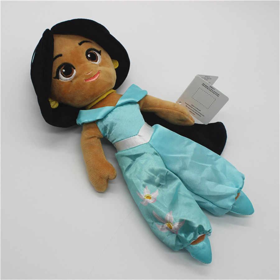 1 pcs originele 28-30 cm Aladdin en de Magische Lamp collecition figuur speelgoed Aladdin Jasmijn Prinses gevulde pluche zacht speelgoed