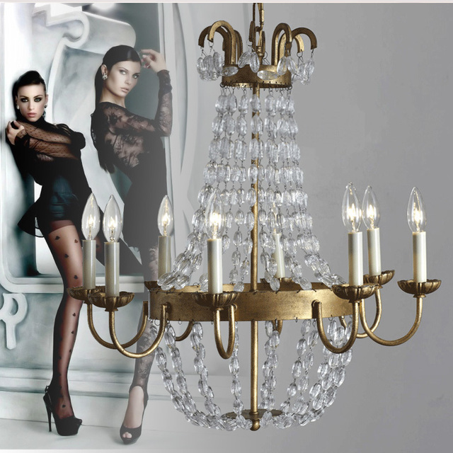 Milan kitchen Chandelier for dining Room bedroom bar indoor lighting transparent Crystal Chandelier Lustres De Cristal led lampa