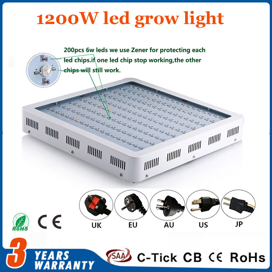 LED Grow Light Lamps Full Spectrum 300W 450W 900W 1200W Double Chips Grow LED Red/Blue/White/UV/IR For Indoor Plants and Flower 1pcs kindomled 600w 1000w 1200w 1500w double chip led grow light full spectrum red blue white uv ir for indoor plant and flower