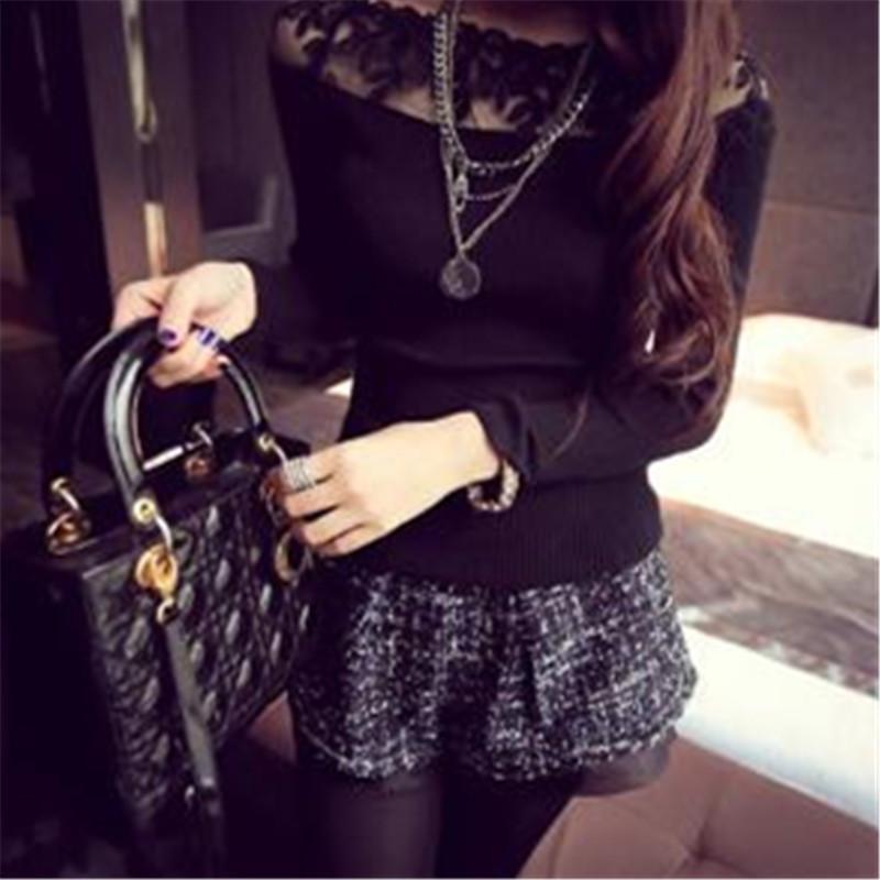 HTB1IIrDJXXXXXaxXVXXq6xXFXXXa - Blusa black white striped blouse shirts long sleeve