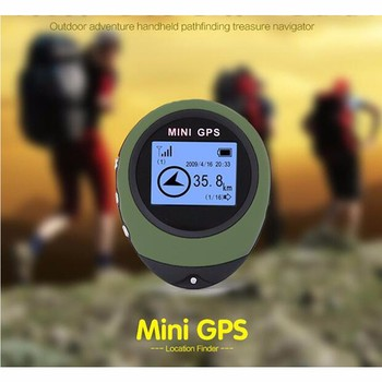 Waterproof Handheld Positioning Finder, Personal Mini Hiking GPS Tracker, Free Shipping