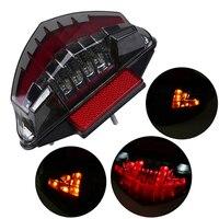 Smoke Motorcycle LED Tail Brake Light Turn Signal Indicator For BMW R1200GS ADV F800S F800ST F800GT F800R 2003 2014 Taillight