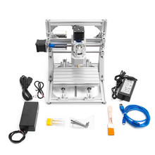 DIY CNC Router Kits Machine Wood Engraver 2-in-1 Mini Milling Working Area 16x11x3cm3 Axis 110V-240V 2019