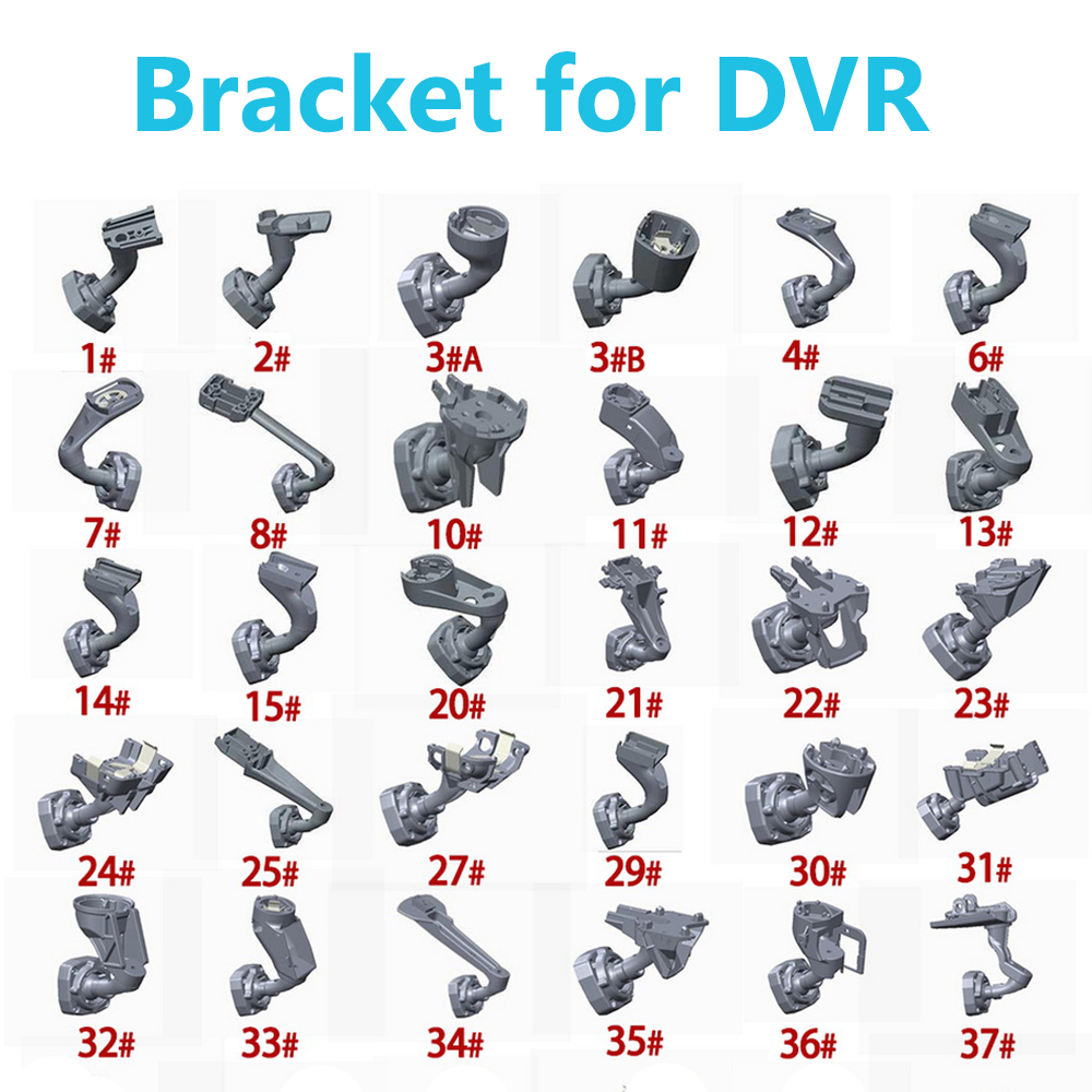 Rear View Mirror Bracket Multiple models delicate for Most of car brand Car GPS DVR bracket holder xycing car dvr 360 degree rotating suction cup bracket car holder 3 pin connector for g50 g55 g52d gs52d car dvr camera