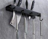 Kitchen knife holder stainless steel tool rack wall hanging kitchen shelf good quality 071