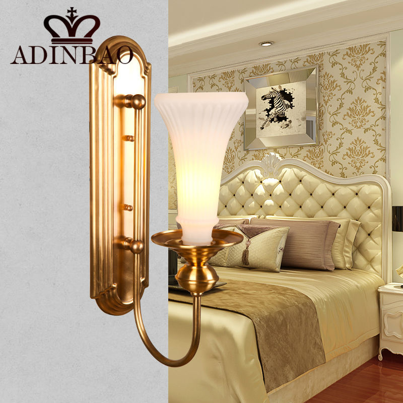 Art deco Outdoor Wall Light Copper Wall Lamp Hotel Wall Mount Light Modern Mini Lamp High Quality XD1037 01A-in Wall Lamps from Lights & Lighting on ...