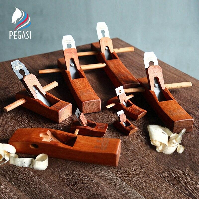 PEGASI Hand Planer Cutting Edge Carpenter Hard Woodworking Planer Wood Hand Tool Set -in Hand