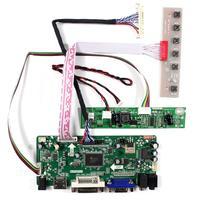 HDMI VGA DVI eingang LCD Controller Board Arbeit Für 18 5 inch 1366x768 LTM185AT04 M185BGE-L10 M185BGE-L22 LCD Panel