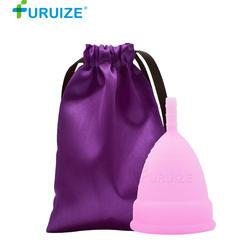Поддержка прямой доставки менструальная чаша чашка Женская гигиена для женщин многоразовые леди чашка 100% силиконовый для использования в