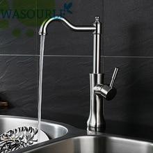 Кухня Из Нержавеющей стали 304 горячей и холодной воды кран бассейна одной ручкой кран современный дизайн высокое качество аэратор